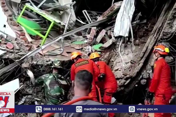 Thiệt hại do động đất tại Indonesia tiếp tục tăng cao