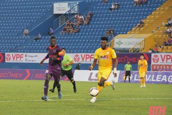 Đông Á Thanh Hóa nhận thất bại trong trận ra quân giải LS V.League 2021
