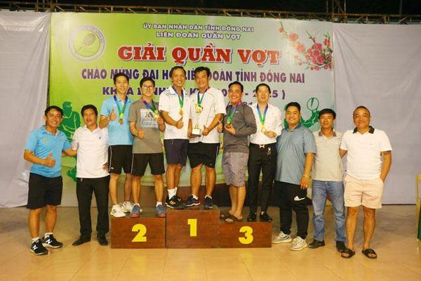 Giải quần vợt chào mừng thành công Đại hội Liên đoàn quần vợt tỉnh khóa II