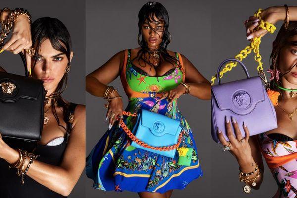Người đẹp ngoại cỡ Precious Lee khoe thần thái đỉnh cao trong chiến dịch quảng bá mới của Versace