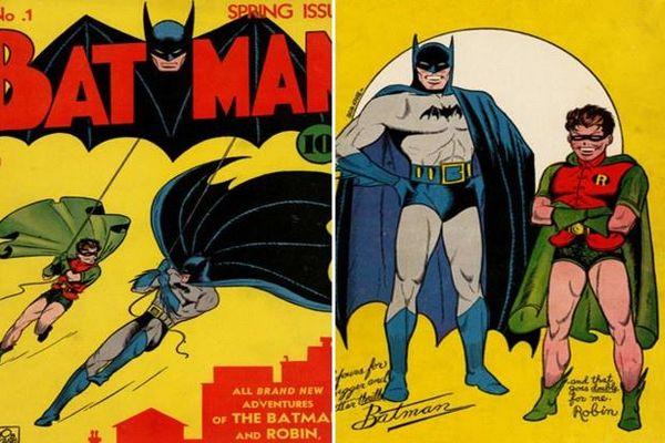 Cuốn truyện tranh Batman giá 2,2 triệu USD