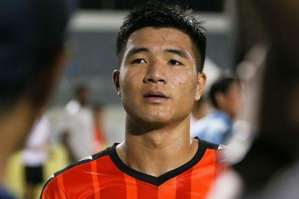 Đức Chinh ghi bàn đầu tiên cho CLB Đà Nẵng ở V.League 2021