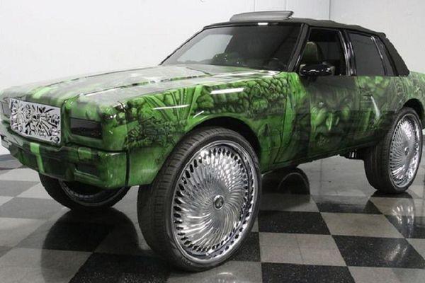 Chevrolet Caprice 1989 'Người Khổng Lồ Xanh' chỉ 923 triệu đồng