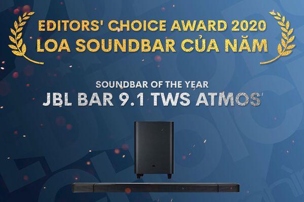 Editors' Choice Awards 2020: JBL Bar 9.1 – Loa Soundbar của năm