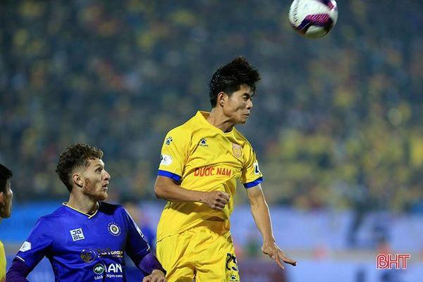 Cầu thủ quê Hà Tĩnh chơi ấn tượng trong trận khai màn V.League 2021