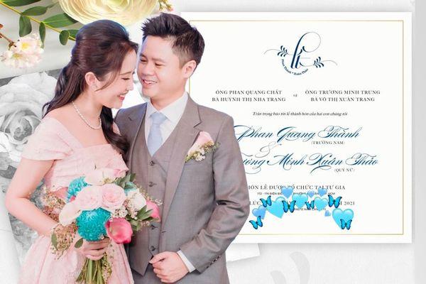 Hé lộ khách mời đám cưới Phan Thành: Toàn đại gia thứ thiệt và nữ diễn viên từng đoạt giải Cánh diều vàng
