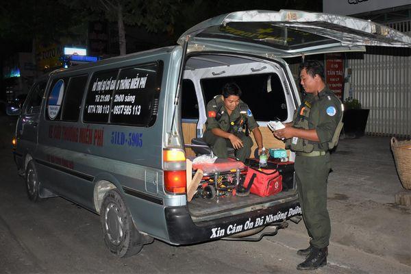 SOS 72 Bà Rịa - những vị cứu tinh trong đêm
