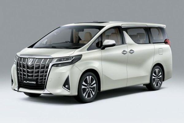 Giá lăn bánh Toyota Alphard 2021 nâng cấp tại Hà Nội và TP.HCM