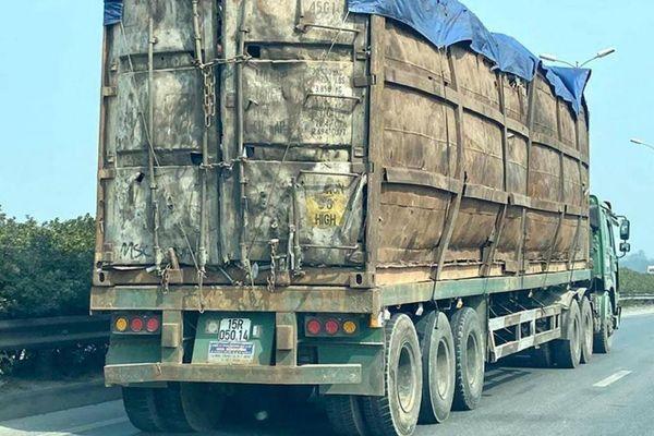 Sử dụng container chở hàng là sai mục đích