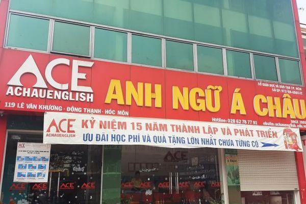 Nhiều cơ sở Trung tâm Anh ngữ Á Châu chưa được cấp phép