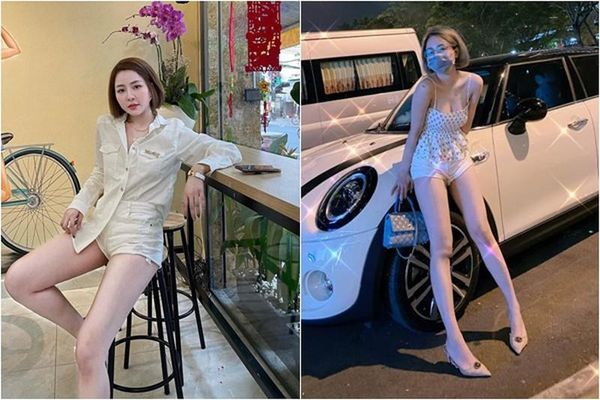 Chiếc quần phản chủ, hot girl Trâm Anh lộ vùng siêu nhạy cảm