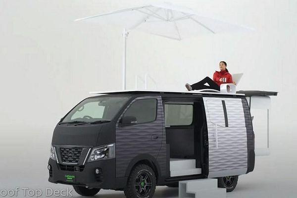 Nissan 'Office Pod' - văn phòng di động siêu tiện lợi ra mắt