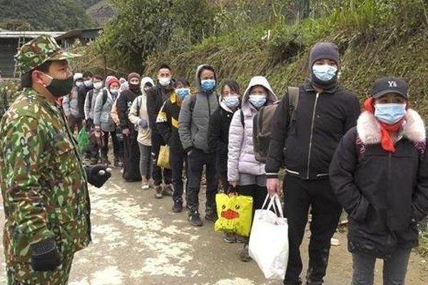 Bắt giữ 35 đối tượng nhập cảnh trái phép từ Trung Quốc vào Việt Nam