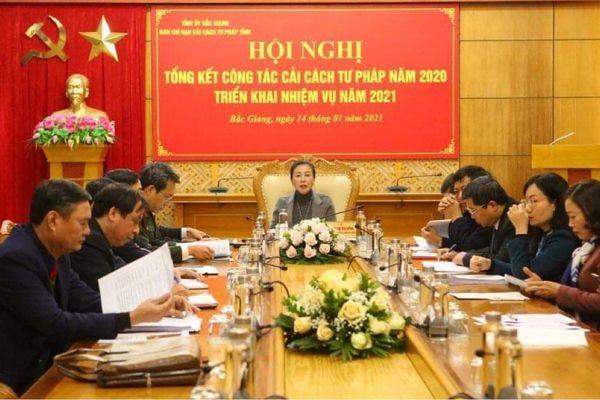 Bắc Giang: Nâng cao chất lượng hoạt động cải cách tư pháp