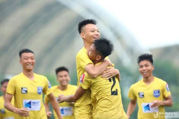 Sông Lam Nghệ An bỏ xa các đối thủ tại Vòng loại U19 Quốc gia 2021