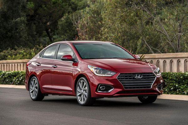 Top 10 xe sedan rẻ nhất năm 2021: Hyundai Accent thứ 3