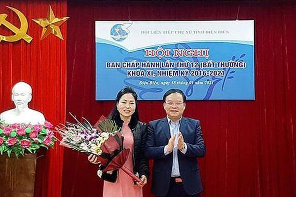 Điện Biên: Phó ban Dân vận Tỉnh ủy được bầu làm Chủ tịch Hội LHPN tỉnh