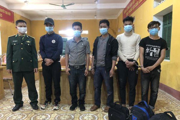 BĐBP Thanh Hóa kịp thời ngăn chặn 5 đối tượng nhập cảnh trái phép từ Lào về Việt Nam