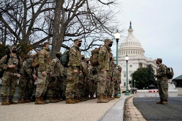 Hàng nghìn quân lính được huy động bảo vệ lễ nhậm chức của ông Biden