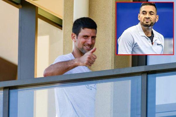 Djokovic bị Nick Kyrgios gọi là 'tên tay sai'