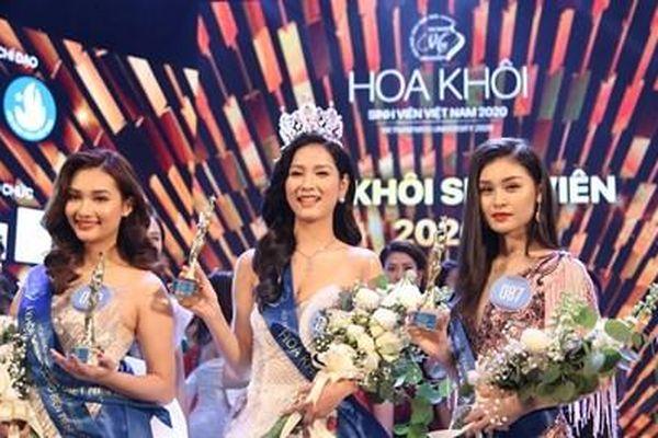 Sinh viên Đại học Nam Cần Thơ giành vương miện Hoa khôi Sinh viên Việt Nam 2020