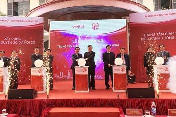 Trung tâm Giám sát điều hành thông minh tỉnh Quảng Trị đi vào hoạt động