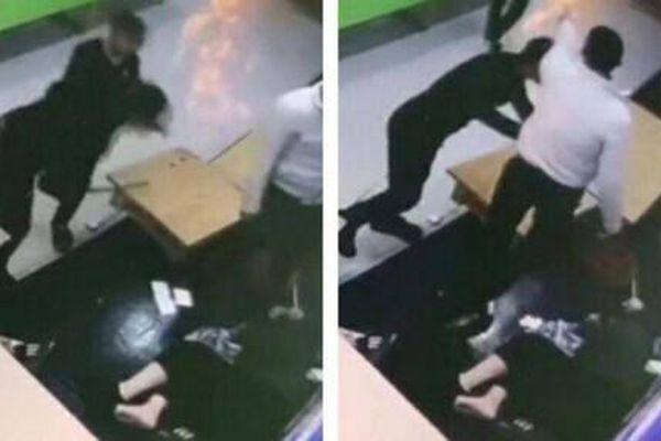 Hé lộ nguyên nhân người phụ nữ ôm con nhỏ bị 2 thanh niên hành hung dã man