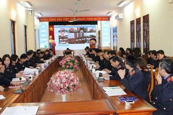 VKSND tỉnh Lào Cai tổ chức Hội nghị triển khai công tác năm 2021