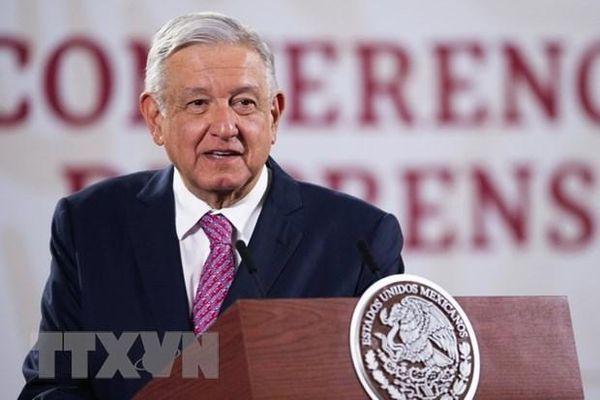 Tổng thống Mexico hy vọng tiếp tục hợp tác an ninh với Mỹ