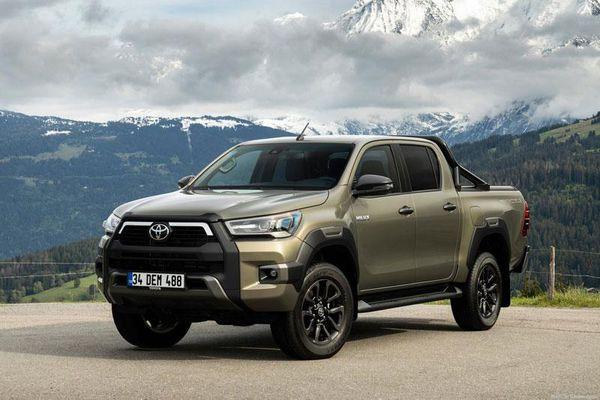 Top 10 xe bán tải 'đắt khách' nhất thế giới năm 2020: Toyota Hilux bỏ xa Ford Ranger