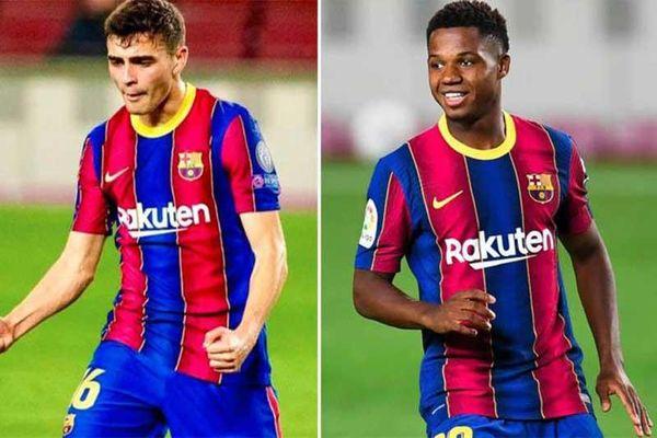 Bruno Fernandes xếp sau 2 sao trẻ Barca trong top 10 cầu thủ tăng giá mạnh nhất cuối năm 2020