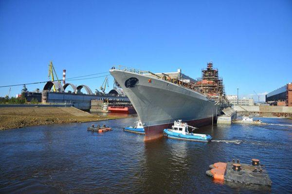 Tuần dương hạm hạt nhân 'Đô đốc Nakhimov' sẽ thử nghiệm vào năm 2021