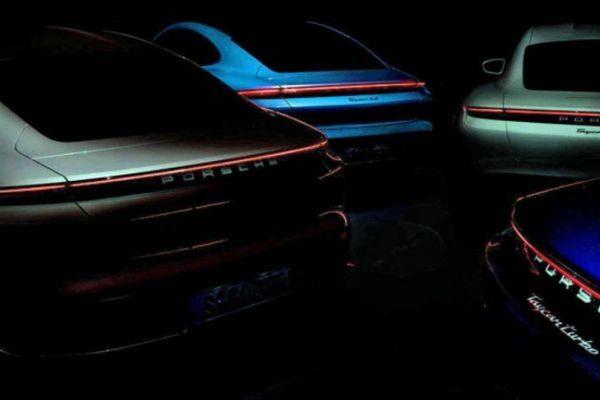 Lộ diện Porsche Taycan thế hệ mới sắp ra mắt