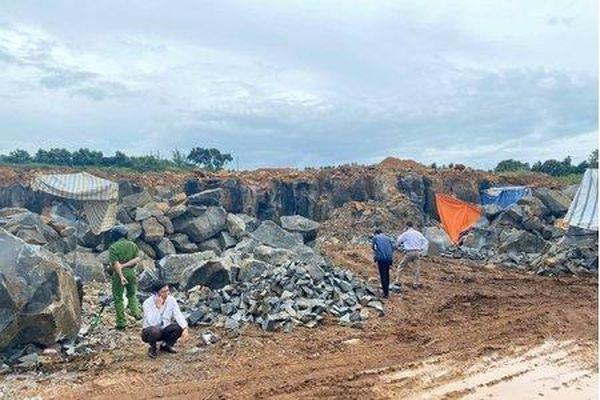 Huyện Di Linh: Xử phạt mỏ đá 10 năm không phép