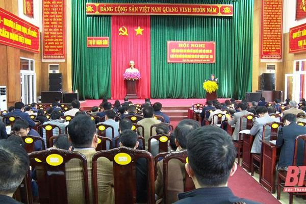 Thị xã Nghi Sơn triển khai công tác bầu cử đại biểu Quốc hội khóa XV và HĐND các cấp nhiệm kỳ 2021-2026