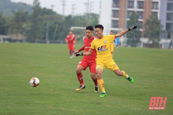 U19 Đông Á Thanh Hóa thất bại đáng tiếc tại vòng loại Giải U19 Quốc gia 2021