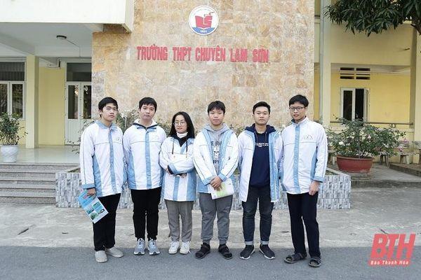 Thanh Hóa xếp thứ 5 toàn quốc về số học sinh đoạt Giải nhất tại Kỳ thi chọn học sinh giỏi Quốc gia năm học 2020-2021