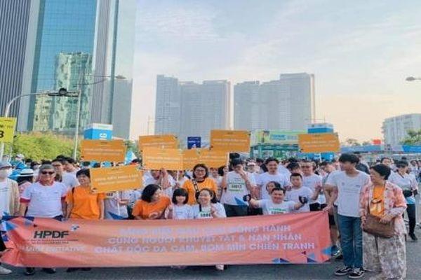 Hơn 10.000 người tham gia HCMC Marathon - giải việt dã ủng hộ người khuyết tật, nạn nhân chất độc da cam và nạn nhân bom mìn chiến tranh