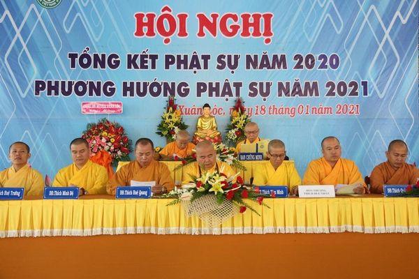 Đồng Nai: Phật giáo huyện Xuân Lộc tổng kết Phật sự