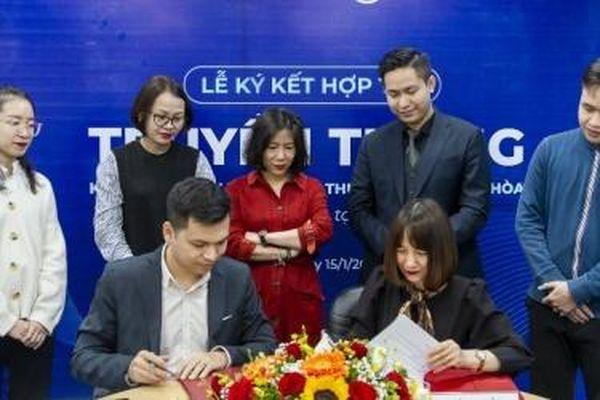 Nội thất Xuân Hòa ký hợp đồng hợp tác chiến lược với Novaon Communication năm 2021