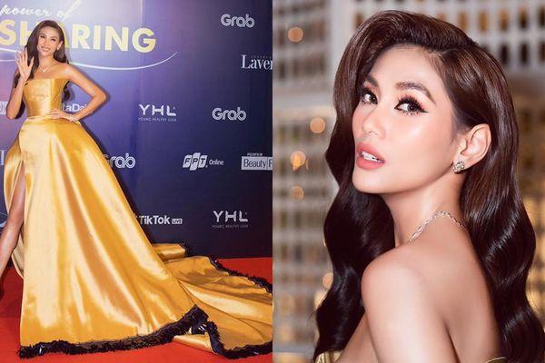 Võ Hoàng Yến tiết lộ chiếc váy 'công chúa Belle' của cô được may trong thời gian siêu ngắn