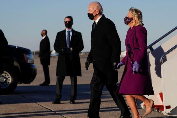 Ông Biden đã đến Washington D.C., sẵn sàng nhậm chức