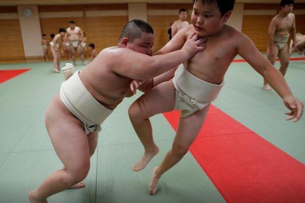 Cậu bé 10 tuổi vô địch Sumo thế giới