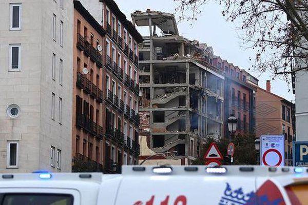 Nổ lớn gây rung chuyển thủ đô Tây Ban Nha