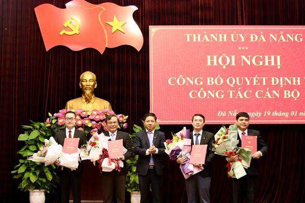 Đà Nẵng: Điều động, bổ nhiệm nhiều lãnh đạo chủ chốt