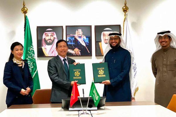 Lễ ký kết Chương trình hợp tác giữa Học viện Ngoại giao Việt Nam và Saudi Arabia