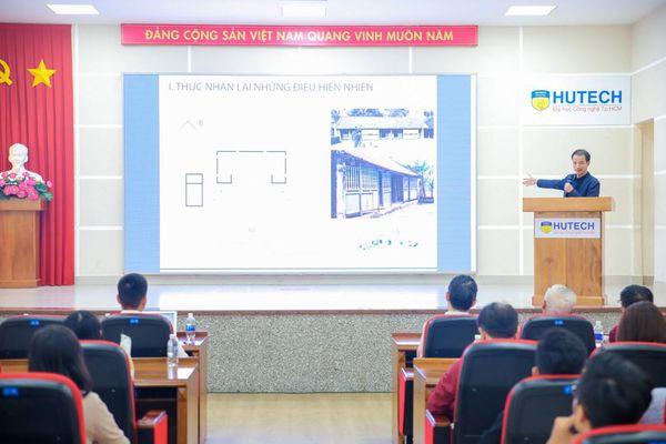 Đối thoại với kiến trúc sư Hoàng Thúc Hào, sinh viên HUTECH học cách tìm cảm hứng sáng tạo