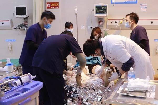 Bị chó pitbull nặng 40kg tấn công, 2 người phụ nữ thương nặng