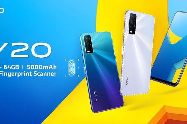 vivo Y20G được công bố với Helio G80, ba camera và pin 5.000 mAh