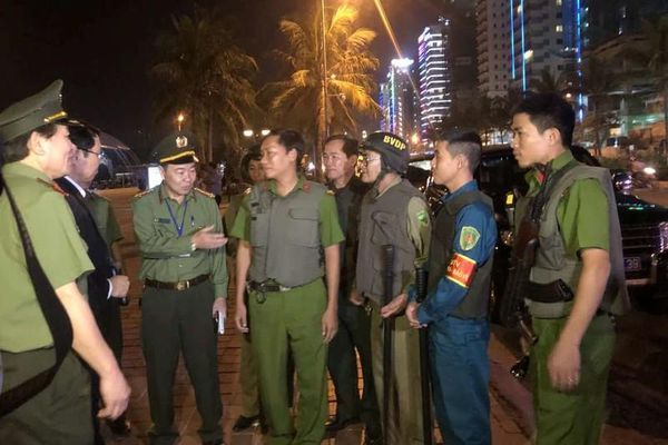 Đà Nẵng: Tăng cường tuần tra, đảm bảo an ninh trật tự dịp Đại hội Đảng